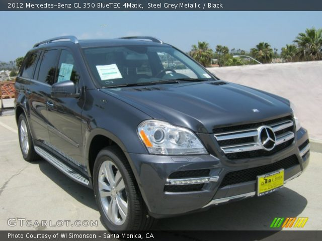 steel grey metallic 2012 mercedes benz gl 350 bluetec. Black Bedroom Furniture Sets. Home Design Ideas