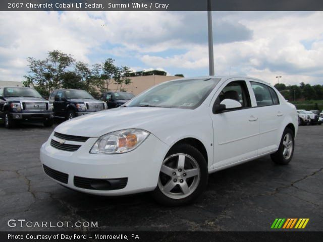 summit white 2007 chevrolet cobalt lt sedan gray. Black Bedroom Furniture Sets. Home Design Ideas