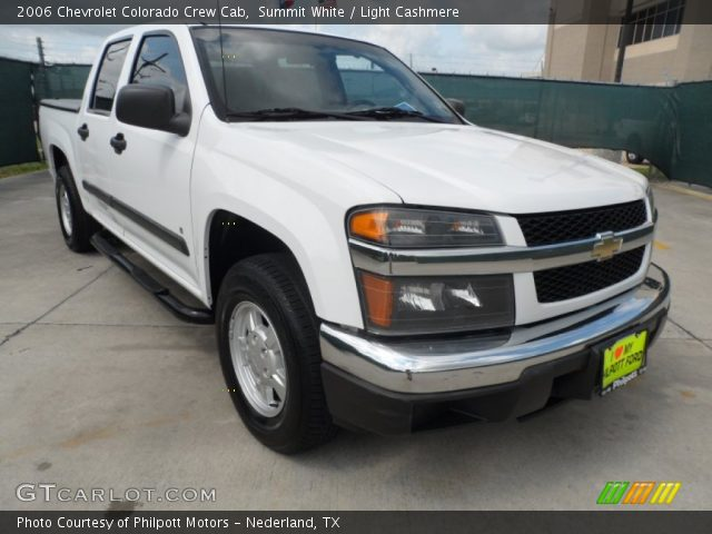 summit white 2006 chevrolet colorado crew cab light cashmere interior. Black Bedroom Furniture Sets. Home Design Ideas