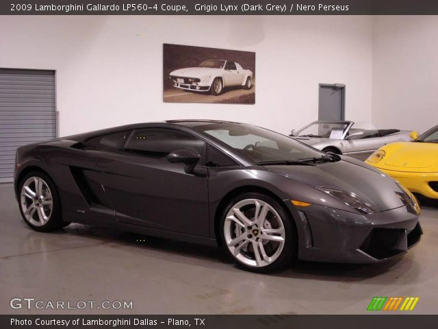 2009 Lamborghini Gallardo LP560-4 Coupe in Grigio Lynx (Dark Grey)