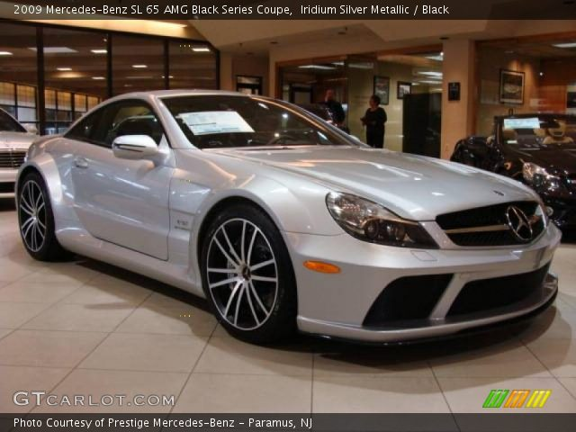 2009 Mercedes-Benz SL 65 AMG Black Series Coupe in Iridium Silver Metallic