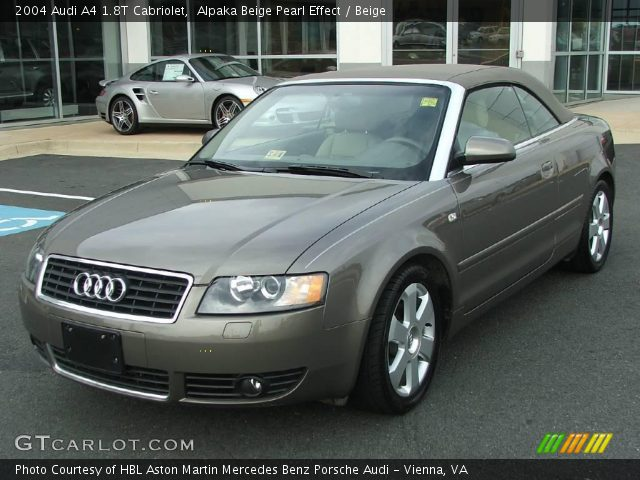 alpaka beige pearl effect 2004 audi a4 1 8t cabriolet beige interior. Black Bedroom Furniture Sets. Home Design Ideas