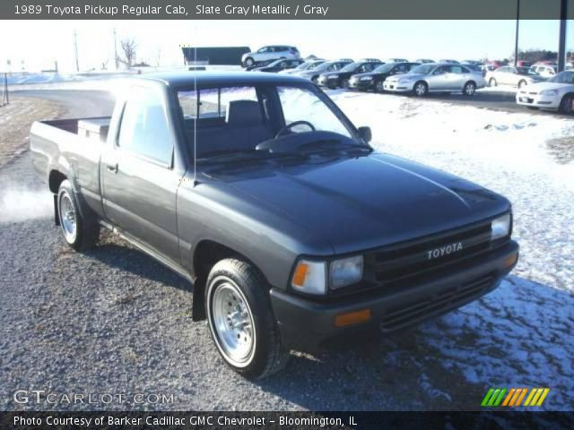 1989 Toyota Pickup Regular Cab in Slate Gray Metallic