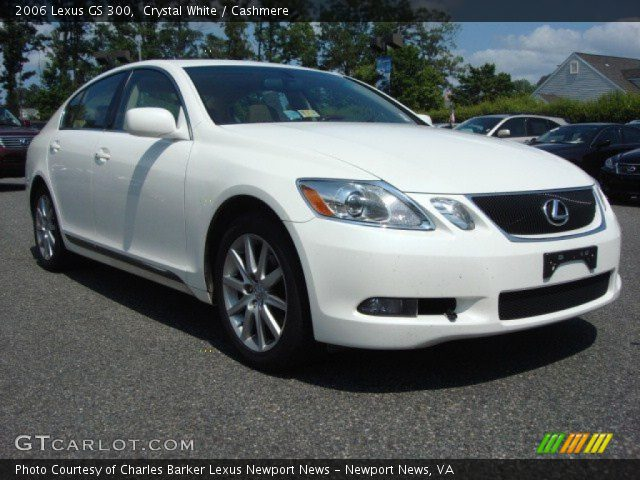 crystal white 2006 lexus gs 300 cashmere interior. Black Bedroom Furniture Sets. Home Design Ideas