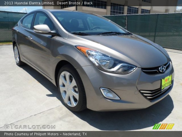 2013 Hyundai Elantra Limited in Desert Bronze