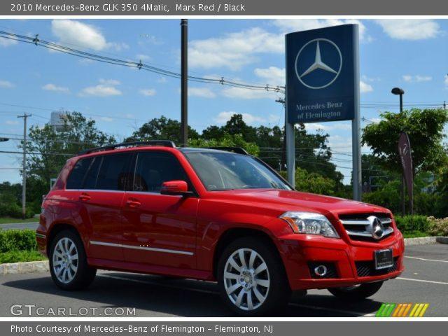 2010 mercedes benz glk 350 4matic in mars red - Mercedes Glk Red