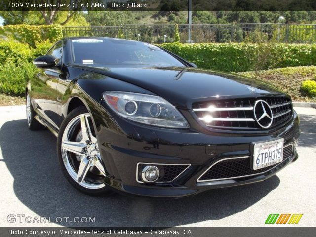 black 2009 mercedes benz cl 63 amg black interior. Black Bedroom Furniture Sets. Home Design Ideas