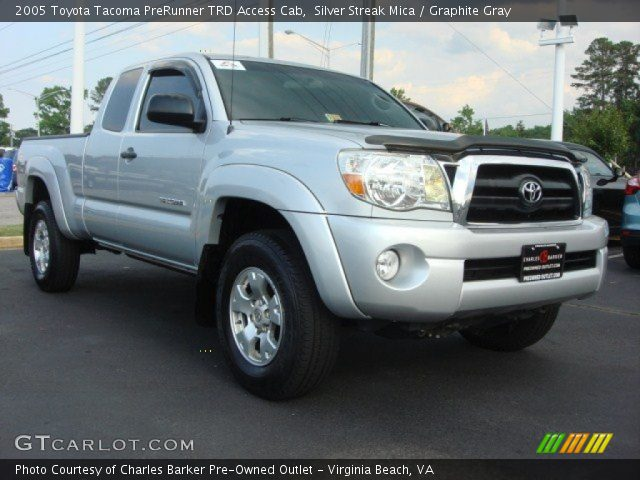 silver streak mica 2005 toyota tacoma prerunner trd. Black Bedroom Furniture Sets. Home Design Ideas