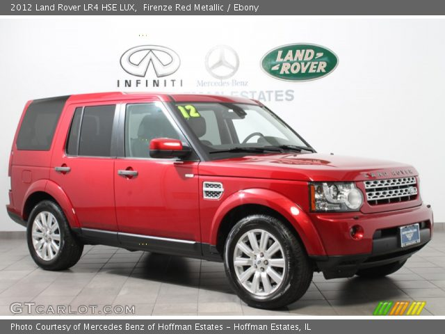 2012 Land Rover LR4 HSE LUX in Firenze Red Metallic