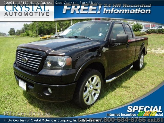 2006 Ford F150 Harley-Davidson SuperCab 4x4 in Black