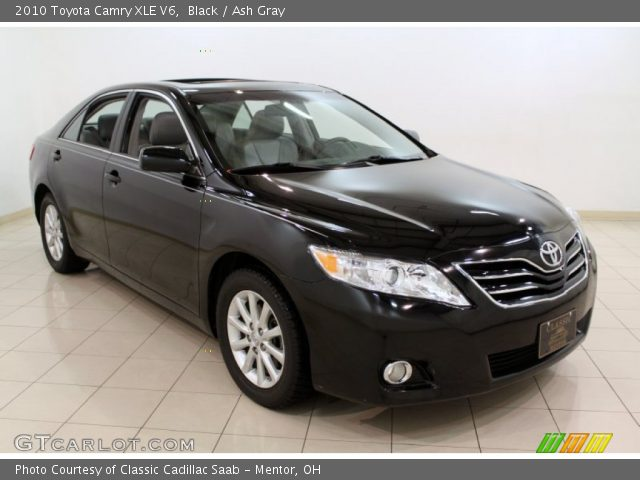 black 2010 toyota camry xle v6 ash gray interior vehicle archive 65970884. Black Bedroom Furniture Sets. Home Design Ideas