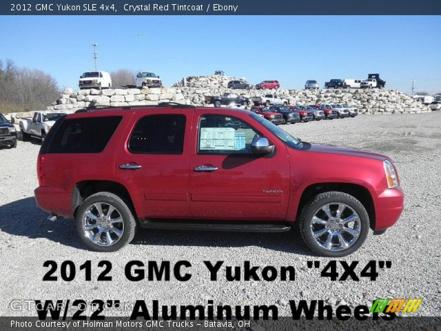 2012 GMC Yukon SLE 4x4 in Crystal Red Tintcoat