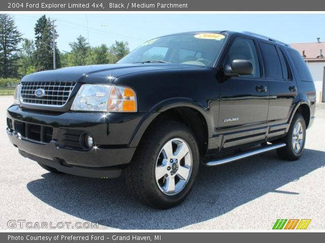 Black - 2004 Ford Explorer Limited 4x4
