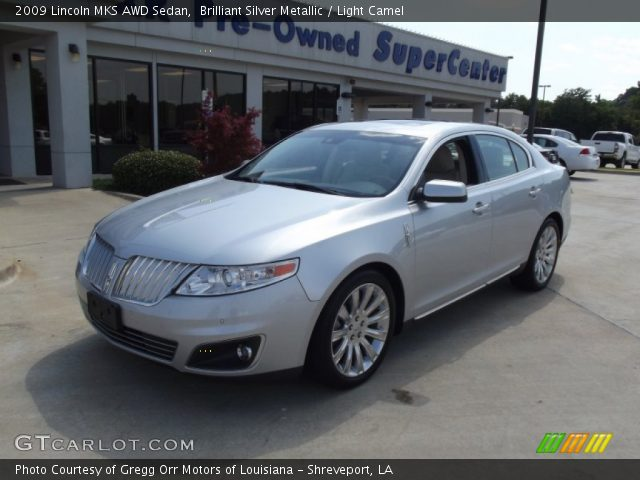 brilliant silver metallic 2009 lincoln mks awd sedan. Black Bedroom Furniture Sets. Home Design Ideas