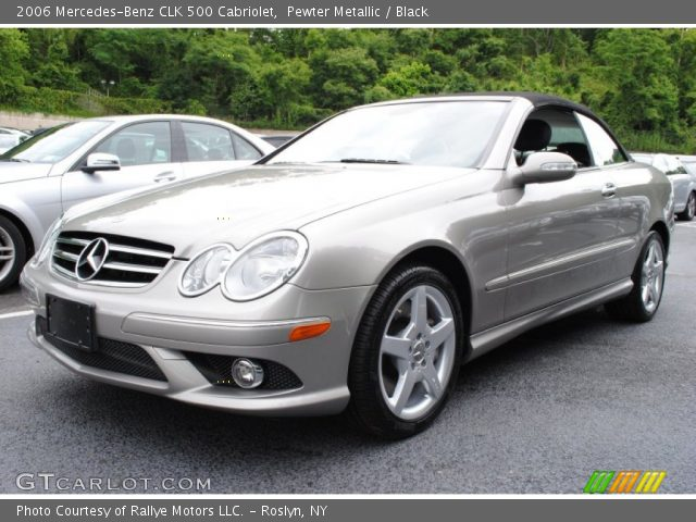 Pewter metallic 2006 mercedes benz clk 500 cabriolet for 2006 mercedes benz clk 500
