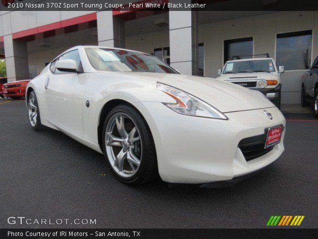 pearl white 2010 nissan 370z sport touring coupe black. Black Bedroom Furniture Sets. Home Design Ideas