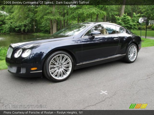 2008 Bentley Continental GT Speed in Dark Sapphire