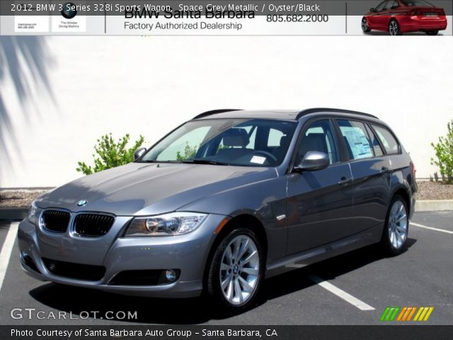 2012 BMW 3 Series 328i Sports Wagon In Space Grey Metallic