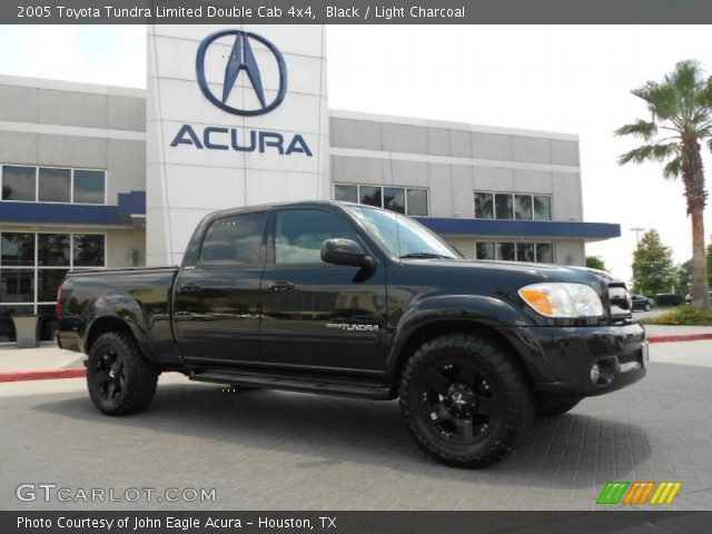 black 2005 toyota tundra limited double cab 4x4 light charcoal interior. Black Bedroom Furniture Sets. Home Design Ideas