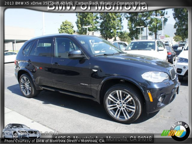 2013 BMW X5 xDrive 35i Sport Activity in Carbon Black Metallic