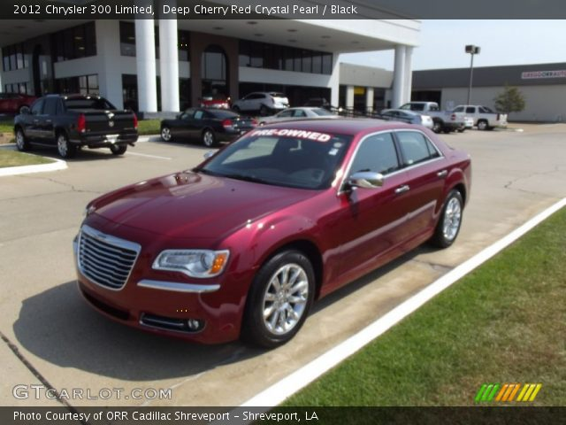 Deep cherry red crystal pearl 2012 chrysler 300 limited - Chrysler 300 red interior for sale ...