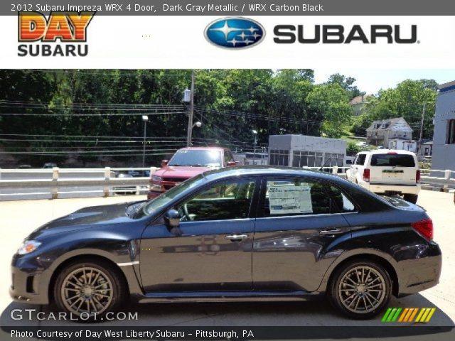2012 Subaru Impreza WRX 4 Door in Dark Gray Metallic