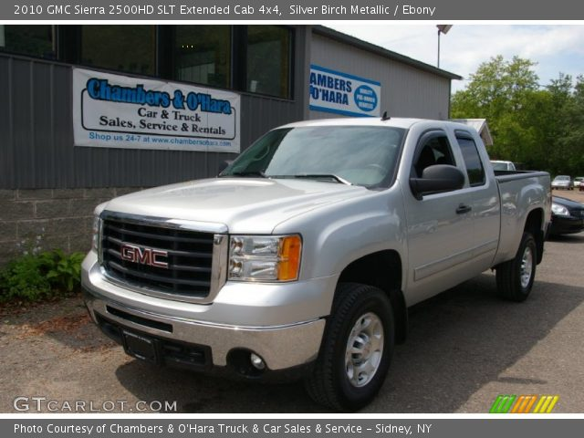 silver birch metallic 2010 gmc sierra 2500hd slt. Black Bedroom Furniture Sets. Home Design Ideas