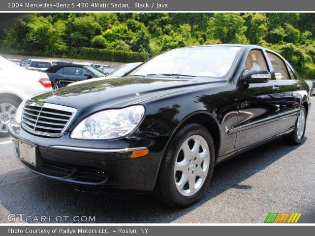 Black 2004 mercedes benz s 430 4matic sedan java for Mercedes benz s 430