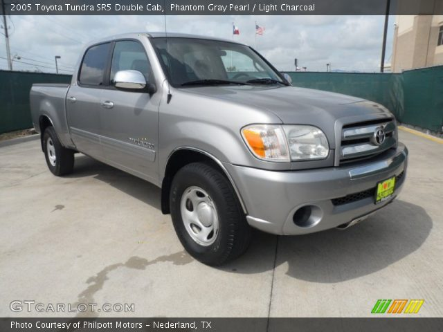 phantom gray pearl 2005 toyota tundra sr5 double cab light charcoal interior. Black Bedroom Furniture Sets. Home Design Ideas