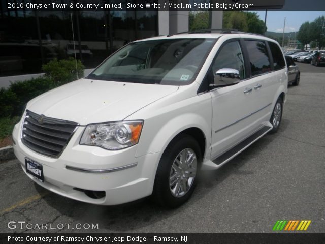 Stone white 2010 chrysler town country limited for Stone s town country motors