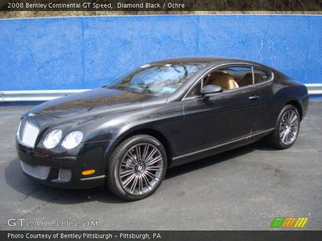 diamond black 2008 bentley continental gt speed ochre interior vehicle. Black Bedroom Furniture Sets. Home Design Ideas