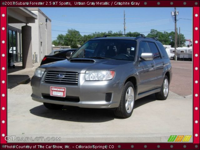 urban gray metallic 2007 subaru forester 25 xt sports
