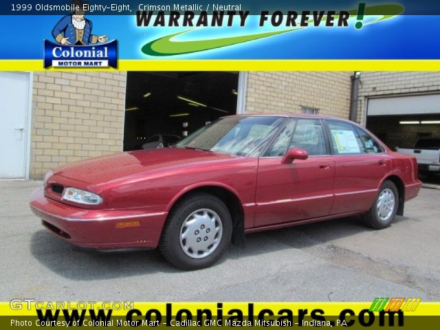 1999 Oldsmobile Eighty-Eight  in Crimson Metallic
