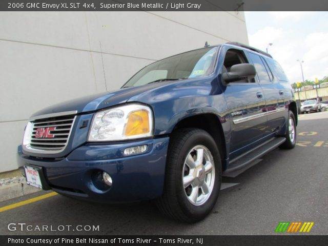 superior blue metallic 2006 gmc envoy xl slt 4x4 light. Black Bedroom Furniture Sets. Home Design Ideas