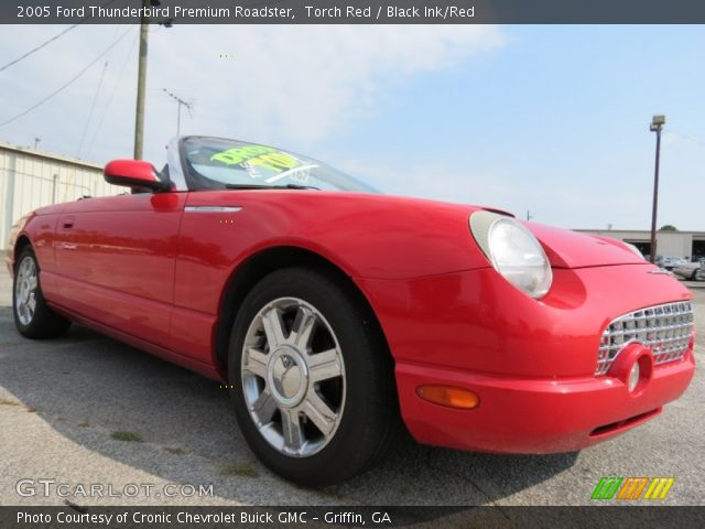 Torch red 2005 ford thunderbird premium roadster black inkred 2005 ford thunderbird premium roadster in torch red sciox Image collections