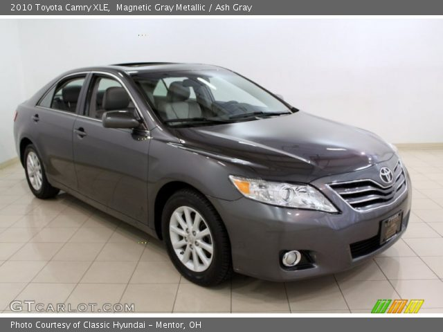 magnetic gray metallic 2010 toyota camry xle ash gray. Black Bedroom Furniture Sets. Home Design Ideas