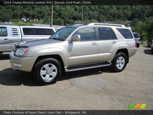 dorado gold pearl 2004 toyota 4runner limited 4x4. Black Bedroom Furniture Sets. Home Design Ideas