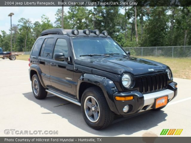 black clearcoat 2004 jeep liberty renegade light taupe. Black Bedroom Furniture Sets. Home Design Ideas