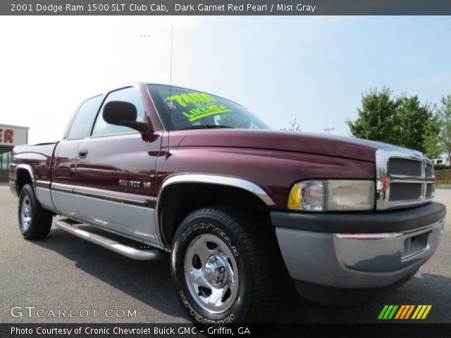 dark garnet red pearl 2001 dodge ram 1500 slt club cab. Black Bedroom Furniture Sets. Home Design Ideas