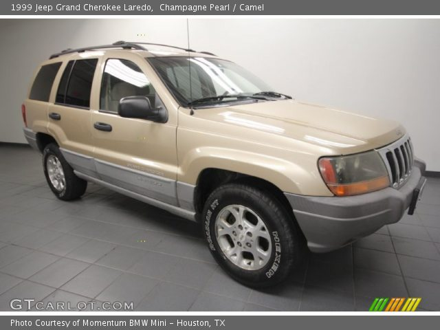champagne pearl 1999 jeep grand cherokee laredo camel interior vehicle. Black Bedroom Furniture Sets. Home Design Ideas