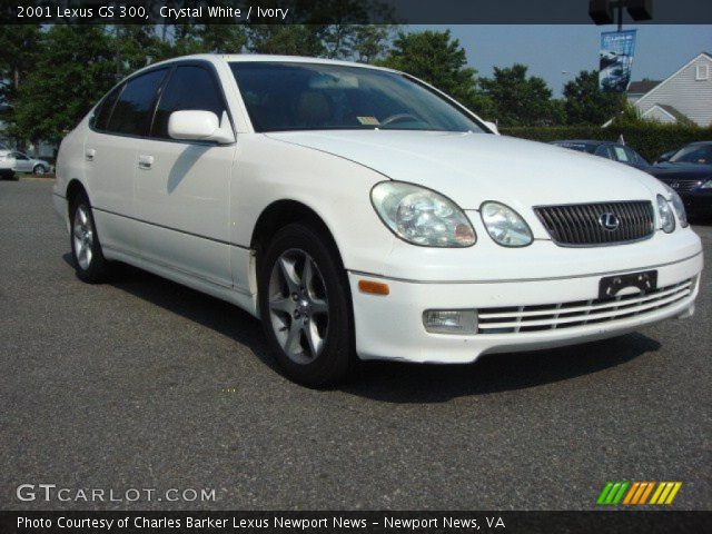 crystal white 2001 lexus gs 300 ivory interior vehicle archive 66951531. Black Bedroom Furniture Sets. Home Design Ideas
