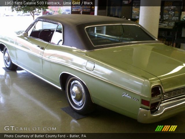 lime gold 1968 ford galaxie 500 fastback black. Cars Review. Best American Auto & Cars Review