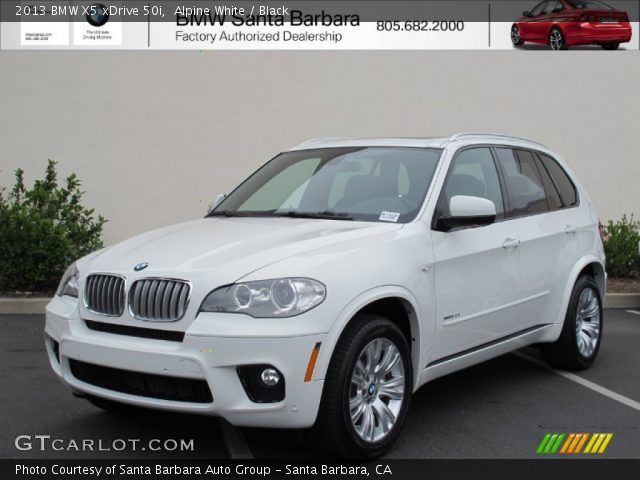 alpine white 2013 bmw x5 xdrive 50i black interior vehicle archive 67011960. Black Bedroom Furniture Sets. Home Design Ideas