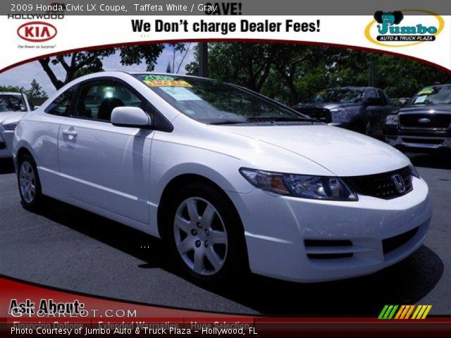 2009 honda civic lx coupe in taffeta white click to see. Black Bedroom Furniture Sets. Home Design Ideas