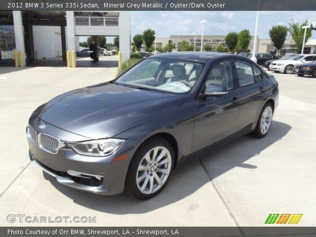 2012 BMW 3 Series 335i Sedan in Mineral Grey Metallic