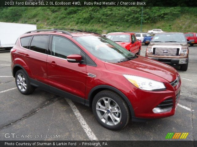 2013 Ford Escape SEL 2.0L EcoBoost 4WD in Ruby Red Metallic