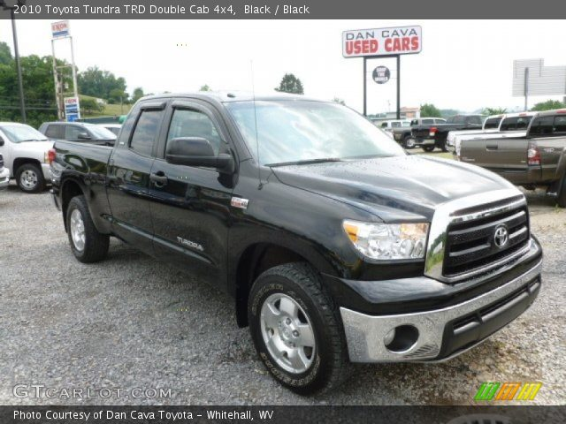 black 2010 toyota tundra trd double cab 4x4 black. Black Bedroom Furniture Sets. Home Design Ideas