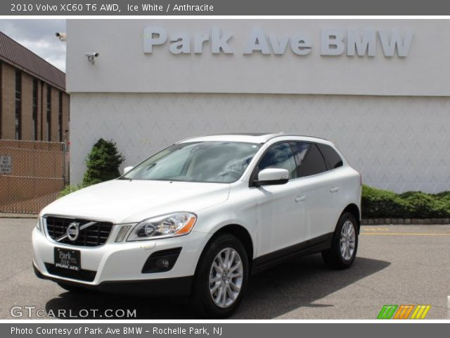 ice white 2010 volvo xc60 t6 awd anthracite interior. Black Bedroom Furniture Sets. Home Design Ideas
