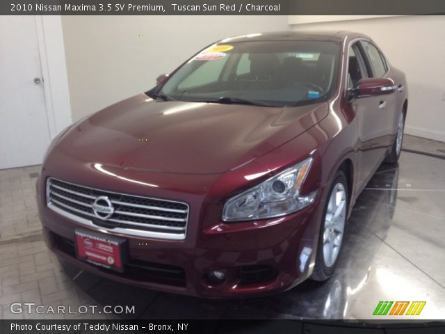 tuscan sun red 2010 nissan maxima 3 5 sv premium. Black Bedroom Furniture Sets. Home Design Ideas