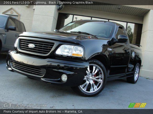 2001 Ford F150 SVT Lightning in Black